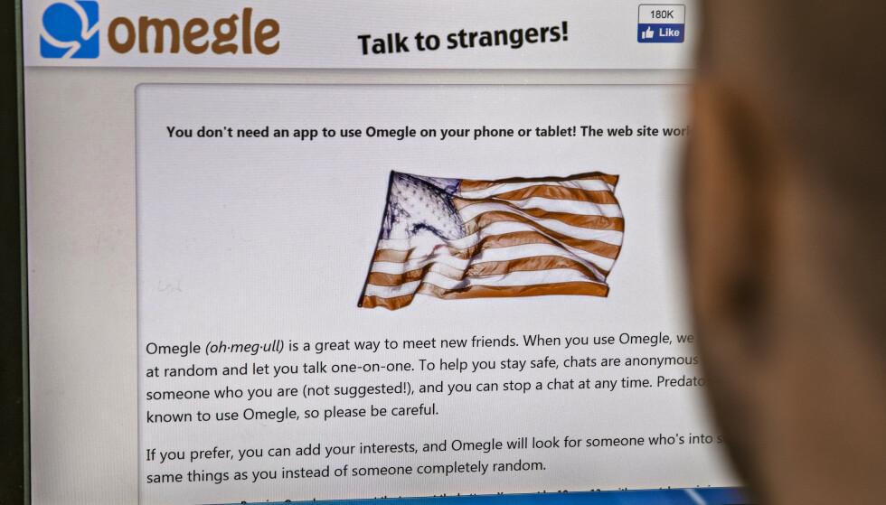 FREMMEDE: Via plattformene Omegle og Skype skal den siktede mannen ha fått kontakt med barna. Foto: Jørn H Moen / Dagbladet