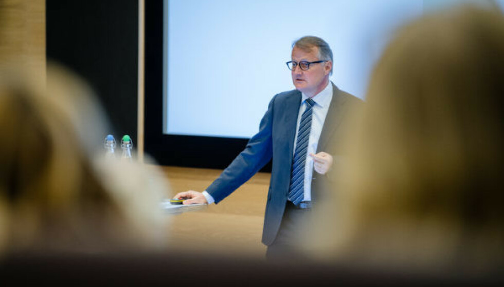 HAR GITT RESULTATER: Rune Bjerke, konsernsjef i DNB