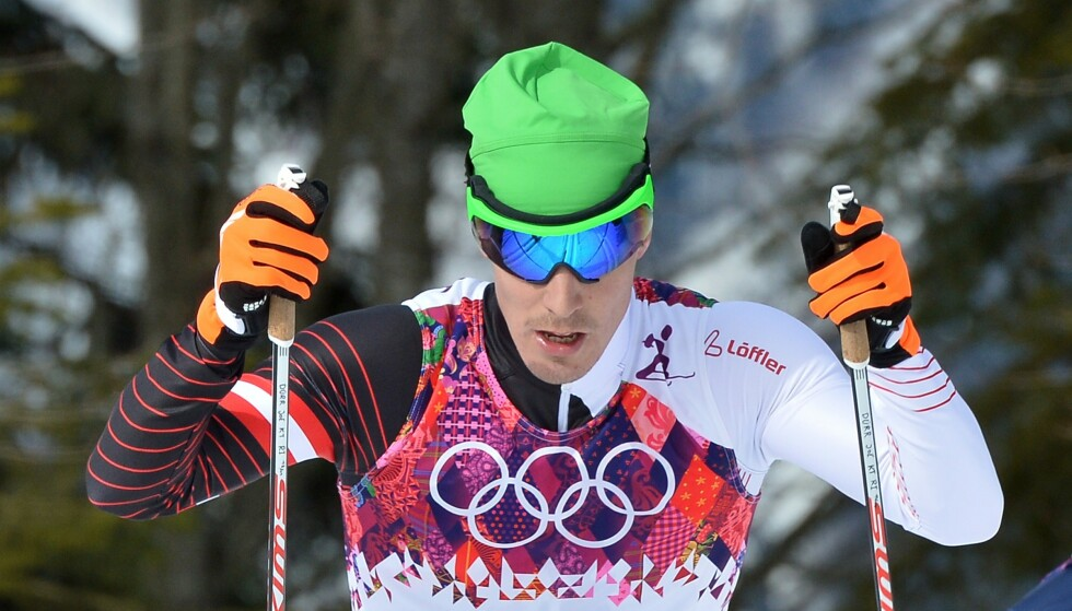 INNRØMMER DOPING: Johannes Dürr under OL i 2014. Foto: AFP PHOTO / ALBERTO PIZZOLI