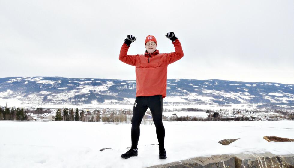 I FARTA: - Når jeg klarte å snu livsstilen, og bli kvitt diabetes 2, kan alle klare det, sier Svein Grandalen. Foto: Kristin Roset