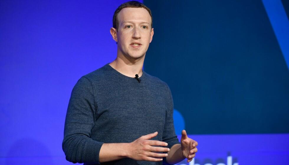 VARSLER ENDRINGER: Facebook-sjef, Mark Zuckerberg. Foto: BERTRAND GUAY / AFP / NTB scanpix