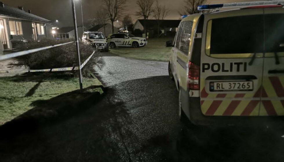 SIKTET FOR DRAPSFORSØK: En kvinne i 20-åra er siktet for drapsforsøk på em kvinne i slutten av 60-åra på Nærbø på Jæren onsdag kveld. Foto: Ronny Hjertås