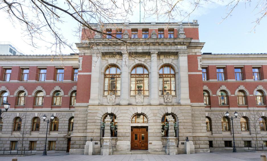 HØYESTERETT: Høyesterett skal avgjøre om den da 17 år gamle gutten kan og skal dømmes til forvaringsstraff. Foto: Gorm Kallestad / NTB scanpix