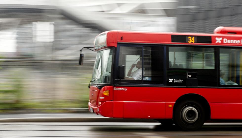 HELT FEIL: Nyhetsavisen Ja til bilen i Oslo påsto at MDG vil erstatte funksjonshemmedes privatbiler med busser. Men det stemmer ikke, ifølge Faktisk.no. Foto: Jon Olav Nesvold / NTB Scanpix