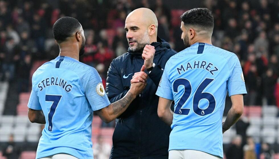 ETTERFORSKES: Manchester City leder Premier League, men kan havne i trøbbel for brudd på de økonomiske fair play-reglene. Foto: NTB scanpix