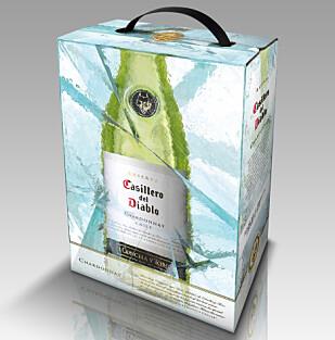CHILENSK: Eliasson anbefaler en let og tørr chilensk Chardonnay-vin for dem som teller kalorier.