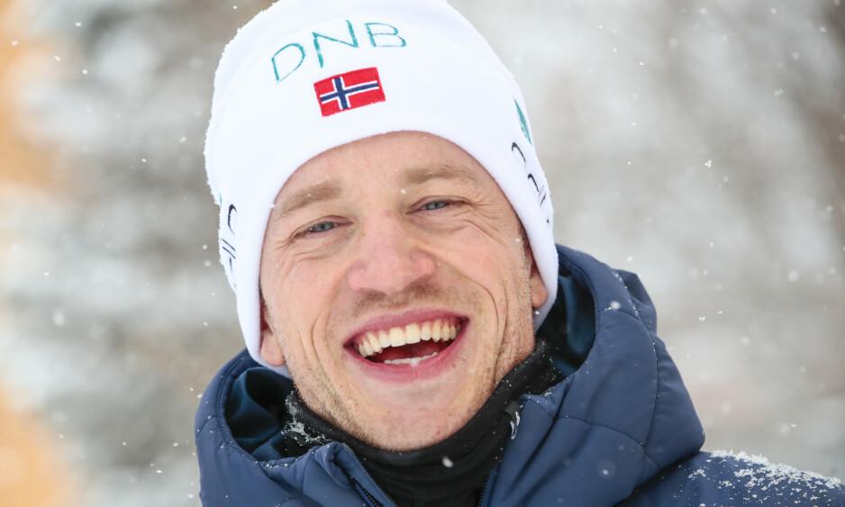 VM-SPRINT: Tarjei Bø har valgt å lade opp uten å gå verdenscup før VM. Det mener han styrker egne sjanser. Foto: Lise Åserud / NTB scanpix