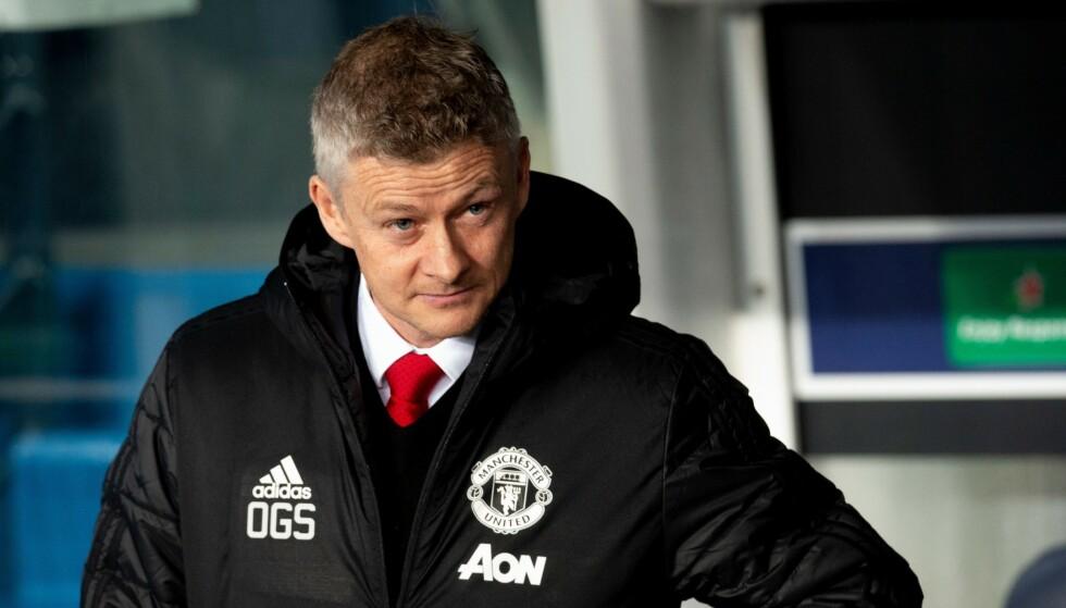 SVAKE TALL: Manchester United løper ikke nok, mener Ole Gunnar Solskjær. Foto: Philippe Perusseau / REX / Shutterstock / NTB Scanpix