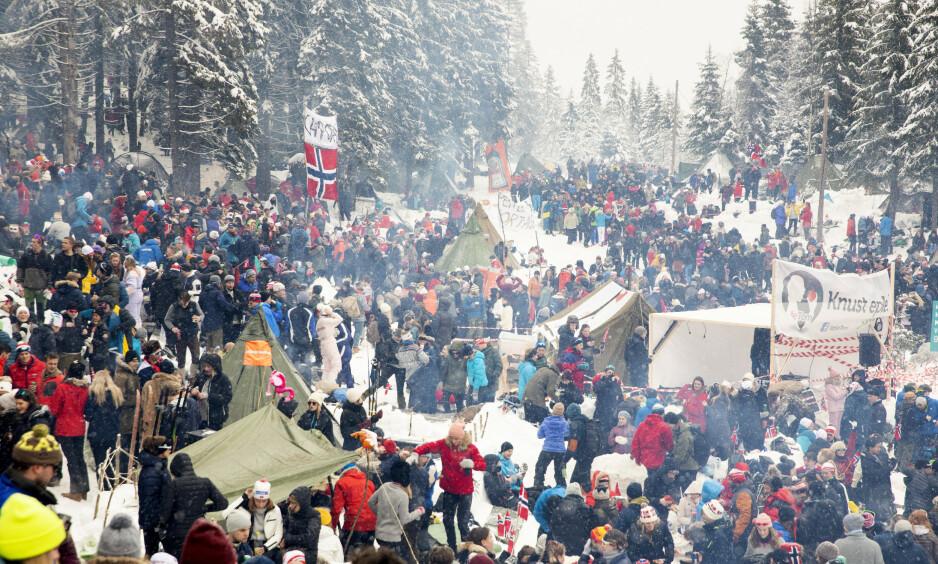 FEST: Nå må noen sette en stopper for dette bisarre fenomenet, skriver Endre Ruset. Foto: NTB Scanpix