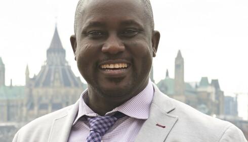 «EN RUVENDE SKIKKELSE»: Den nigerianske, Canada-bosatte professoren Pius Adesanmi. Foto: Josh Hotz / Carleton University / AP / NTB Scanpix