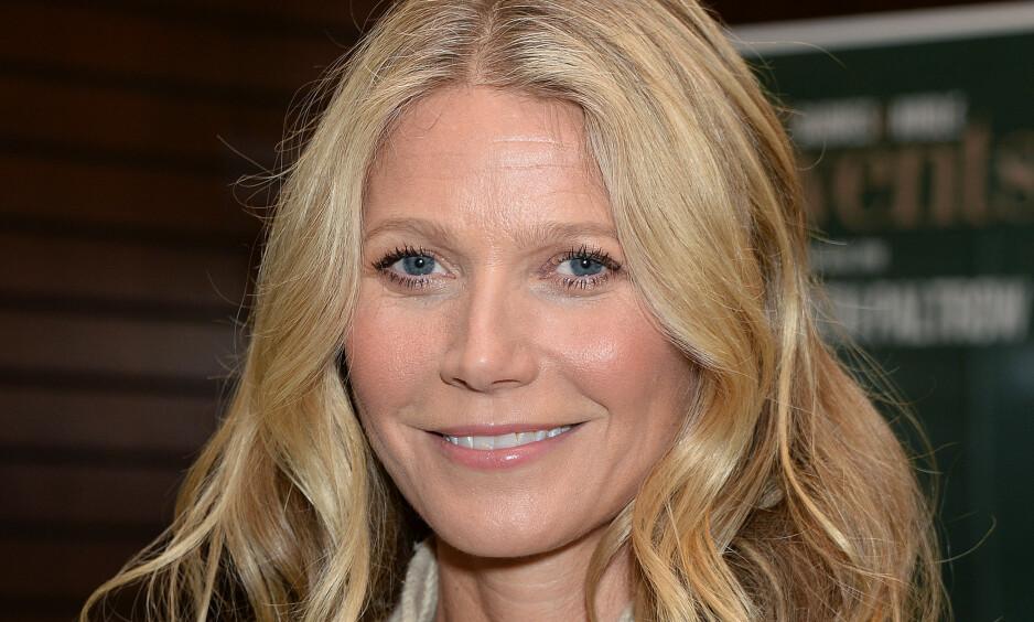 SER POSITIVT PÅ ALDEREN: Mens mange frykter det å bli eldre, mener skuespiller Gwyneth Paltrow at det innebærer en enorm frihet. Foto: NTB Scanpix