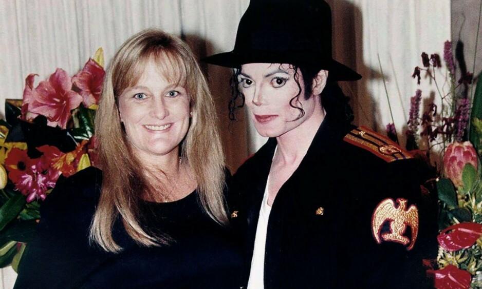 EKTESKAP NUMMER TO: Michael Jacksons ekteskap med Debbie Rowe var alt annet enn tradisjonelt. Foto: NTB Scanpix