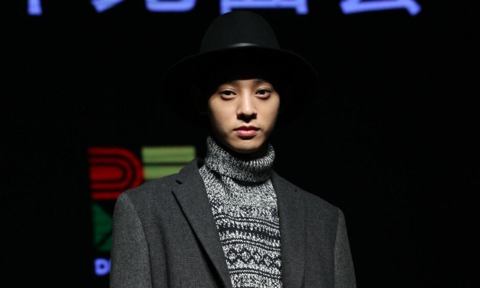 TILSTÅR: Jung Joon Young innrømmer å ha filmet og delt videoer av kvinner mens han har hatt sex med dem. Her under en pressekonferanse i Kina før en konsert i 2014. Foto: Tpg/ZUMA Wire