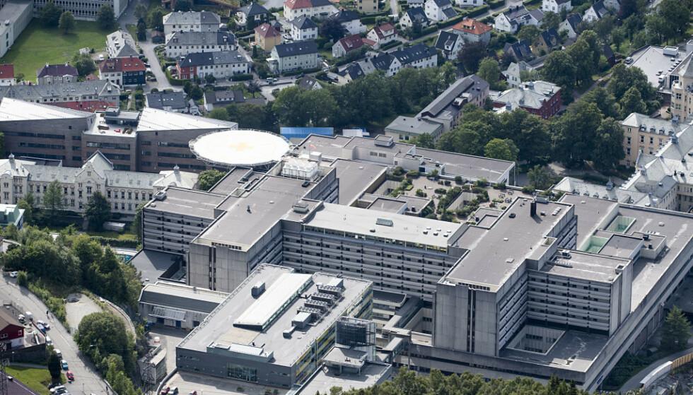 OPERERTE FEIL: En pasient fikk i november fjernet tykktarmen ved en feil på Haukeland sykehus.