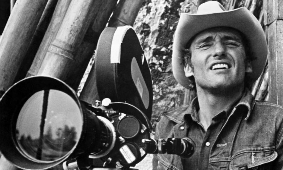 LEGENDARISK: «The Last Movie» er historien om hvordan Dennis Hopper dro med seg en haug med kjente og ukjente skuespillere, country-sangere og filmfolk til Peru. Filmen er blitt både beryktet og legendarisk, men knapt noen har sett den inntil nå. Foto: NTB Scanpix