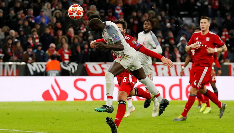 FIKSET AVANSEMENT: Sadio Mané glitret da Liverpool sikret kvartfinale i Champions League. Foto: Reuters/Andrew Boyers