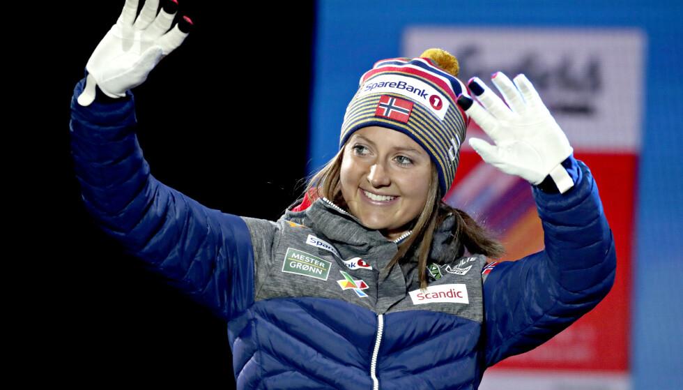 GOD SOM GULL: Ingvild Flugstad Østberg gikk inn til medalje i samtlige renn hun gikk under VM i Seefeld. Likvel vraker vi henne til