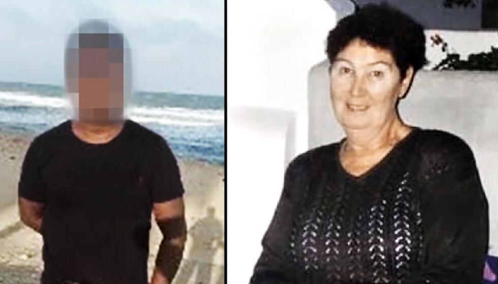 DREPT: Marie-Louise Bendiktsen ble funnet voldtatt og drept i Sjøvegan for 20 år siden. Mannen til venstre er nå tiltalt for drapet. Foto: NTB Scanpix / Privat