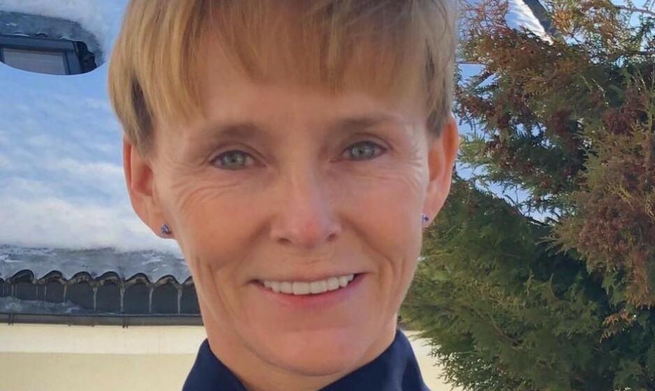 SIKTET: Justisminister Tor Mikkel Waras (Frp) samboer Laila Anita Bertheussen (54) ble torsdag siktet for å ha diktet opp en straffbar handling ved å tenne på familiens bil natt til 10. mars. Foto: Privat