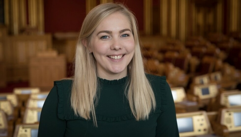FORBUD MOT REKLAME: Mari Holm Lønseth (H) foreslår at Høyre skal gå inn for et forbud mot reklame for kosmetisk kirurgi. Foto: Høyre