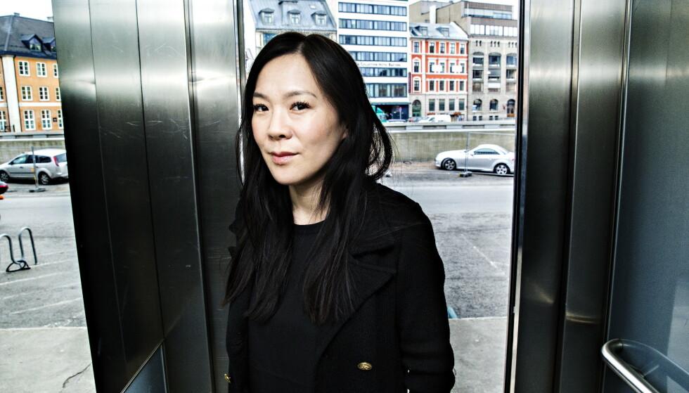 KINA: «Kina. Den nye supermakten - Jakten på Xi Jinping og det moderne Kina» er Sun Heidi Sæbøs tredje bok. Hun har tidligere utgitt to bøker om Nord-Korea. Foto: Nina Hansen