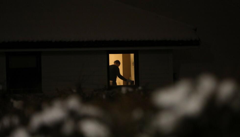 RANSAKELSE: Justisministeren Tor Mikkel Waras bolig ble i går ransaket av Kripos. Foto: Christian Roth Christensen/ Dagbladet