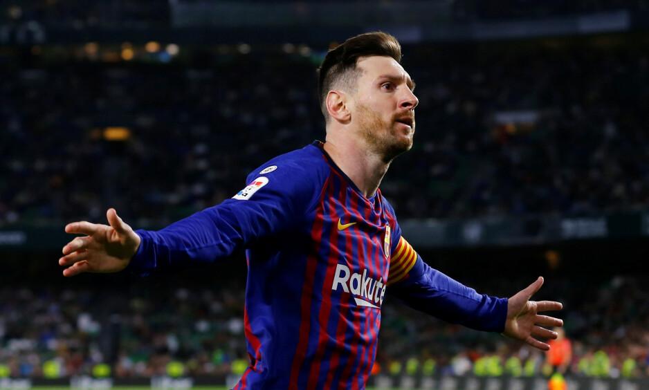 LEKTE SEG: Solskjærs kommende motstander hadde få problemer med å slå Real Betis i kveld. Foto: REUTERS / Marcelo del Pozo / NTB Scanpix