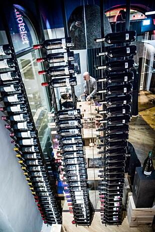 PÅ HØYDEN: Vinoteket leverer mye god og spennende vin.