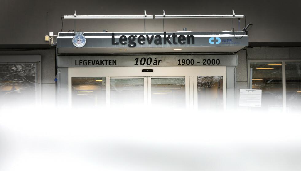 VAKSINERES: Fem ansatte ved Oslo legevakt vil tirsdag bli vaksinert mot meslinger etter at en kollega ble smittet av den potensielt dødelige sykdommen. Foto: Gorm Kallestad / NTB scanpix
