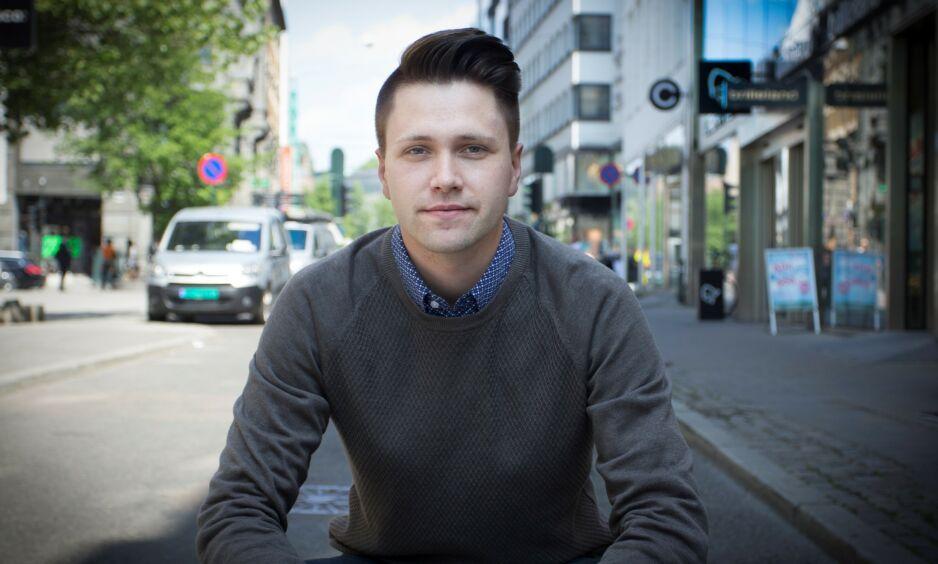 BLI PÅ SKOLEN: Bjørn-Kristian Svendsrud (Fpu) mener at hvis elevene vil redde kloden, så burde de bli på skolen og ikke delta i klimastreiken. Foto: Fpu