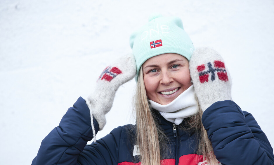 PROFIL: Ingrid Landmark Tandrevold er blitt en skiskytteryndling denne sesongen. Nå skal hun avslutte verdenscupsesongen i Holmenkollen. Foto: Lise Åserud / NTB scanpix