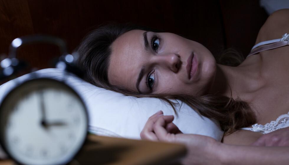 SØVNPROBLEMER: Årsaken til at du er deprimert kan være at du sover dårlig. Foto: NTB Scanpix / Shutterstock