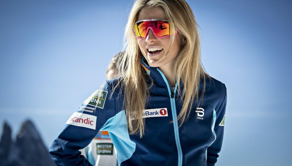 GJØR ENDRINGER: Therese Johaug vil endre på fokuset til neste sesong - og varsler tiltak også fram mot OL i Beijing. Foto: Bjørn Langsem / Dagbladet