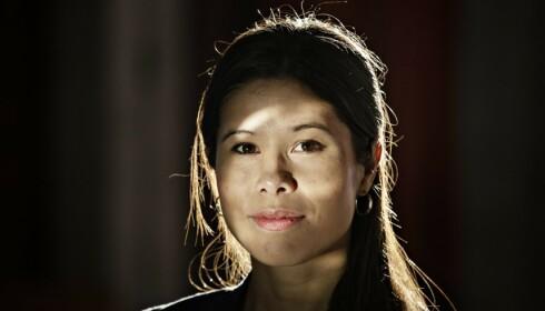 STOLT: MDGs Lan Marie Nguyen Berg er stolt over ungdommene som demonstrerer, og mener Helgheims utspill når et nytt lavmål. Foto: Jørn H Moen / Dagbladet