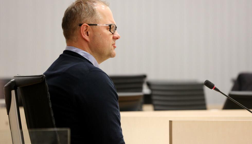 KONFLIKT: Claus Ryste, sportssjef NSF Alpint, forklarer seg under rettssaken mellom alpinisten Henrik Kristoffersen og Norges Skiforbund. Foto: Berit Roald / NTB scanpix