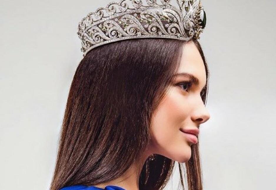 MISS MOSKVA: Ifjor stakk 24 år gamle Alesia Semerenko av med seieren i «Miss Moscow». Nå blir hun fratatt missetittelen. Foto: Skjermdump / Instagram