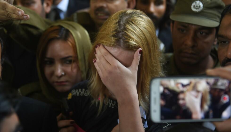 SKAL ANKE: Modellens advokat har opplyst om at 21-åringen kommer til å anke dommen. Foto: NTB Scanpix