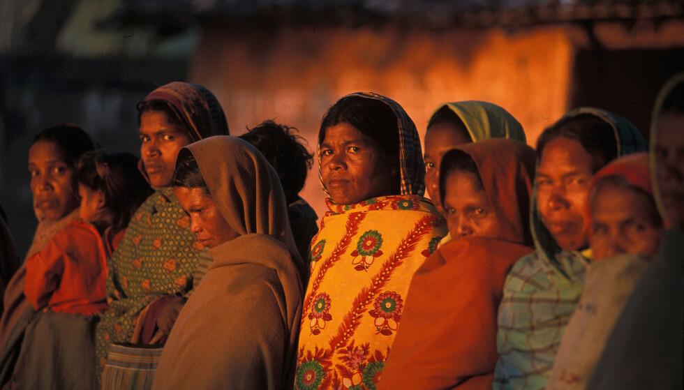 TRUES. I dagens India drepes det flere påståtte hekser enn under hekseprosessene i Europa på 1500- og 1600-tallet. Foto: Simon Williams /Ekta Parishad/Wikipedia