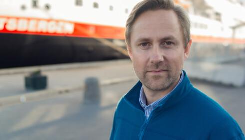 Kommunikasjonssjef i Hurtigruten Rune Thomas Ege. Foto: Hurtigruten