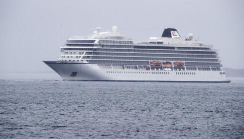 Molde  20190324. Cruisbåten Viking sky med motorhavari og i kraftig uvær Foto: Terje Pedersen / NTB scanpix