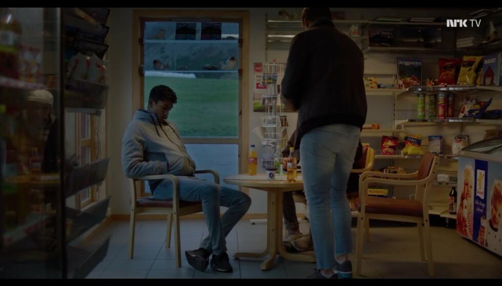 Dere valgte altså å sitte her... Foto: NRK