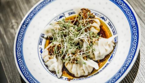 <strong>IKKE VÅRE RULLER:</strong> Hakkaiza serverer flere kjente klassikere fra det kinesiske kjøkken, som dim sum (siu mai), hoisinsaus og crispy duck.