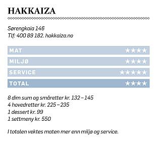 «Norges beste kinarestaurant»: - Mmm. Spenstig!