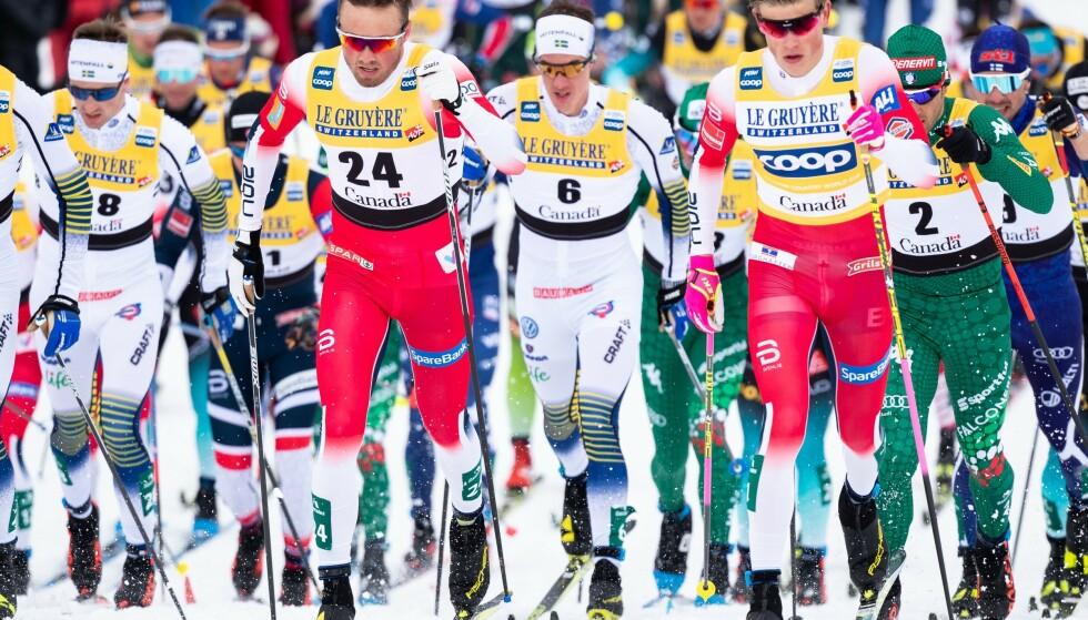 TOPPMANN?: Emil Iversen kan satse mot å bli en sammenlagtløper i langrenn. Foto: NTB Scanpix