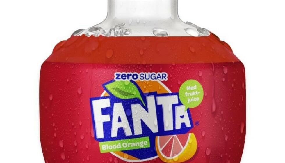 ØDELEGGER AMBISJONENE: Coca Cola medgir at den ikke-pantbare Fanta-bobla passer dårlig med målsettingene om gjenbruk. Foto: Produsenten