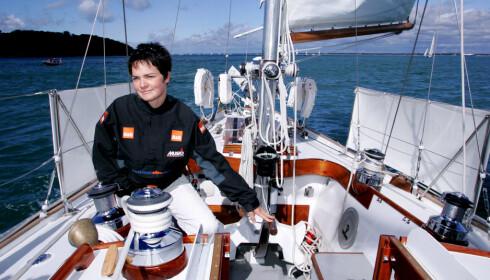 EX-SEILER: Ellen MacArthur ble kjent gjennom seilingen - særlig fordi hun seilte alene rundt hele kloden. Hun er fortsatt den som har gjort det raskest. Foto: Scanpix/REX