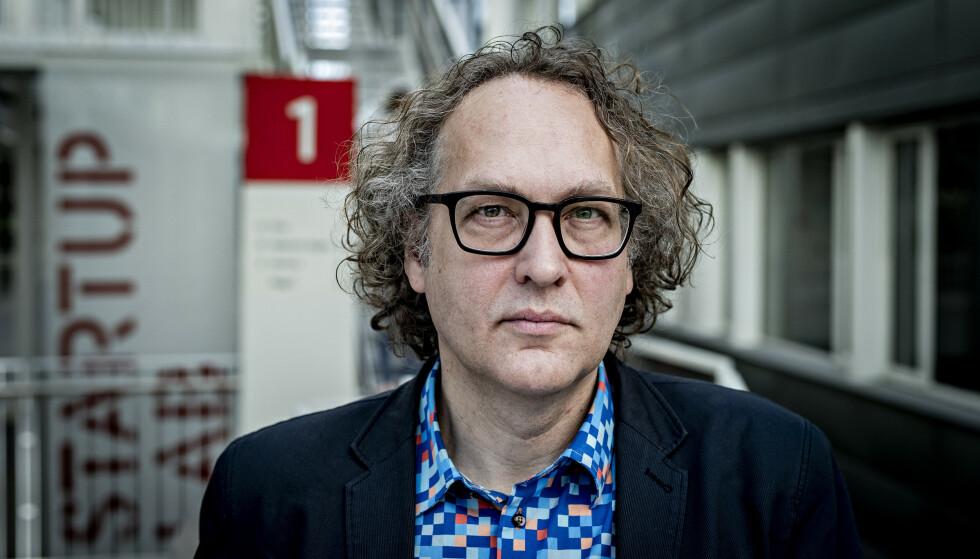 EKSPERT: Førsteamanuensis Arnt Maasø, er svært kritisk til Tidal-dokumentene Dagbladet har fått tilgang til. Svertekampanje, sier han. Foto: Bjørn Langsem / Dagbladet