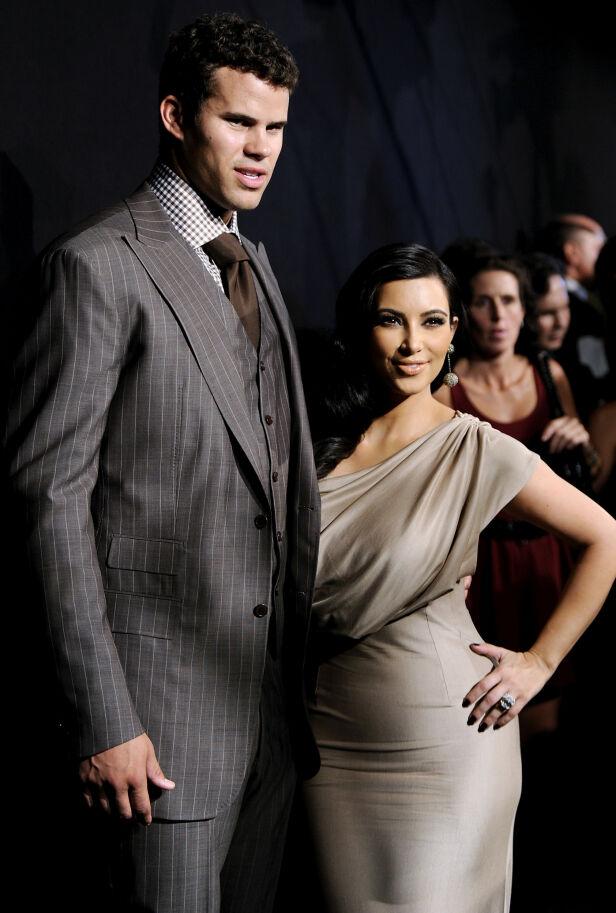 VAR VANSKELIG: Basketballspilleren Kris Humphries skriver i blogginnlegget at han ikke visste hvordan han skulle håndtere skilsmissen med realitystjerna. Foto: NTB scanpix