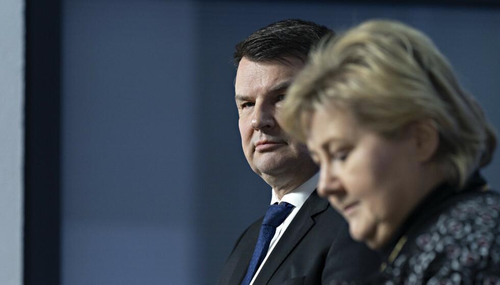 BERØRT: Uansett om Tor Mikkel Waras samboer er skyldig eller ikke, ville rollen som politiets øverste sjef blitt vanskelig framover. Foto: John Terje Pedersen / Dagbladet