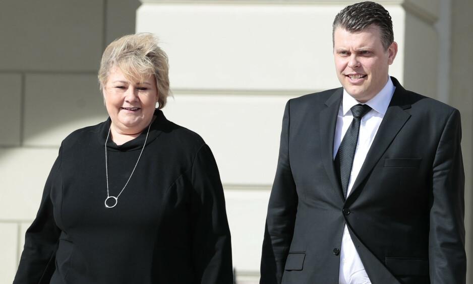 JUSTISMINISTER: Jøran Kallmyr ( Frp) ble fredag utnevnt til ny justisminister av kongen i statsråd. Foto: Håkon Mosvold Larsen / NTB scanpix